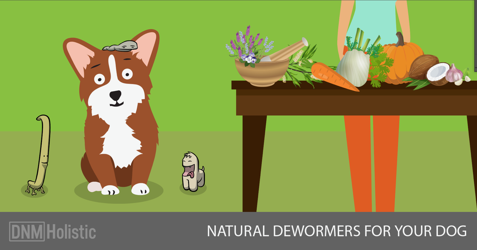 Herbal Options For Your Dog's Worms