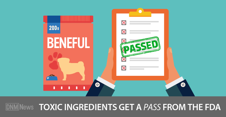 Bag of Beneful toxic dog food and FDA report