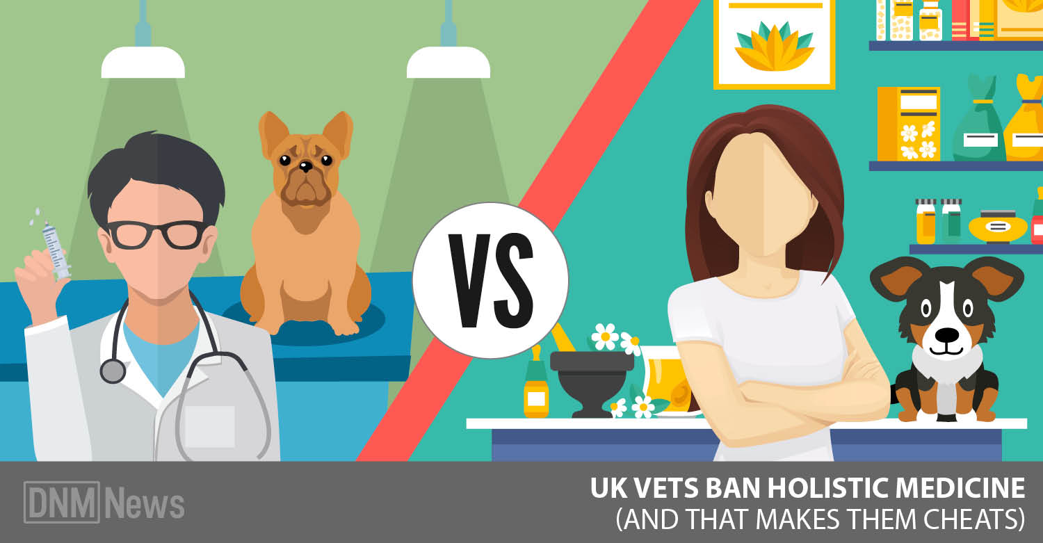 UK Vets Ban Holistic Medicine? - Dogs Naturally Magazine