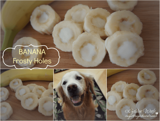 Banana Frosty Holes