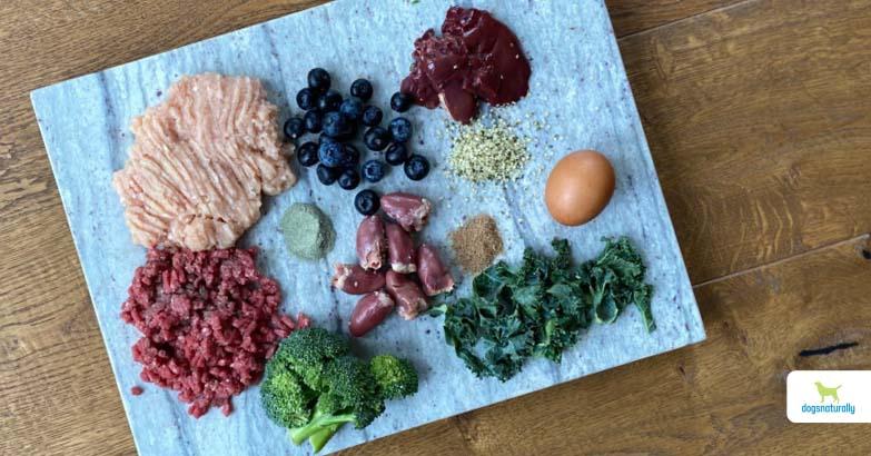Raw Boneless Turkey & Beef Dog Food Recipe